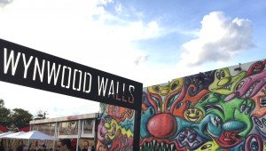Entrance to Wynwood Walls area