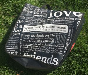 Educating consumers about Health and Wellness, one bag at a time